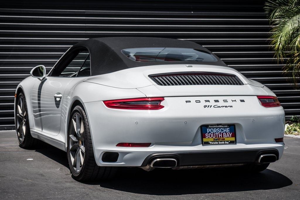 Certified Pre-Owned 2017 Porsche 911 Carrera Cabriolet