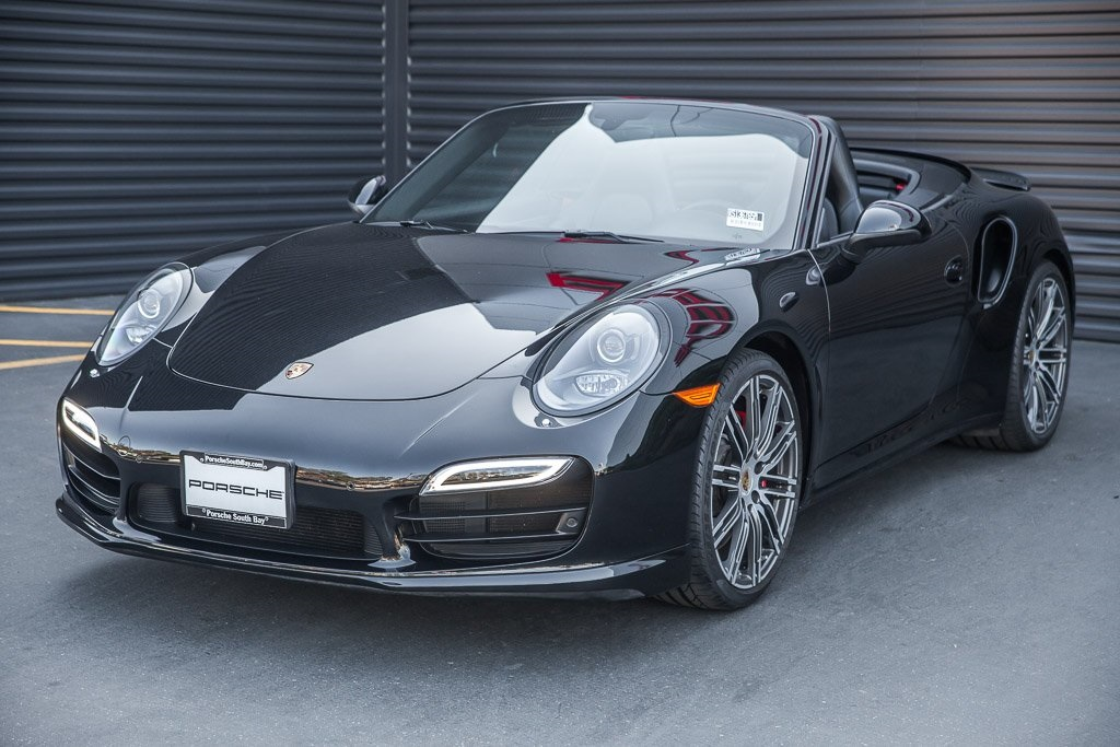 Certified Pre-Owned 2016 Porsche 911 Turbo Cabriolet