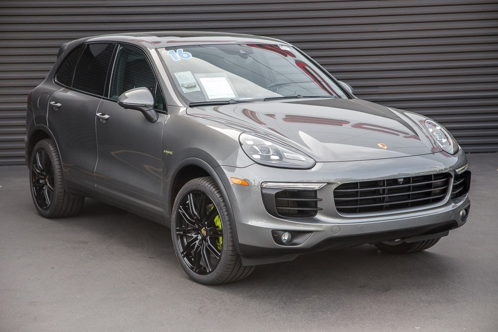 Certified Pre Owned 2016 Porsche Cayenne S E Hybrid