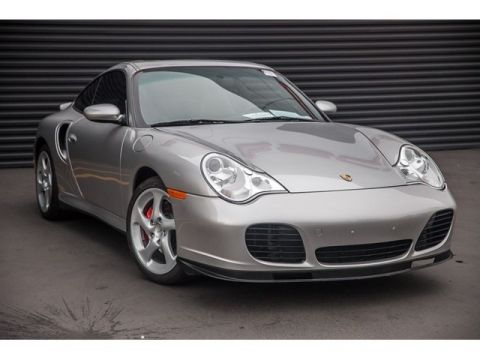 Pre-Owned 2002 Porsche 911 Turbo Coupe