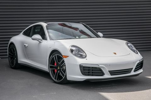 Certified Pre-Owned 2017 Porsche 911 Carrera 4S