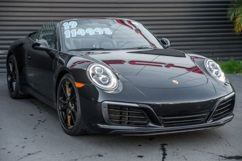 Certified Pre-Owned 2019 Porsche 911 Carrera Cabriolet