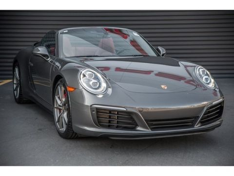 Certified Pre-Owned 2018 Porsche 911 Carrera 4S Cabriolet